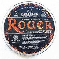 "Леска Kosadaka ""ROGER SuperCast"" 0,23мм 110 (10шт) LRGR023"