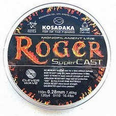 "Леска Kosadaka ""ROGER SuperCast"" 0,20мм 110 (10шт) LRGR020"