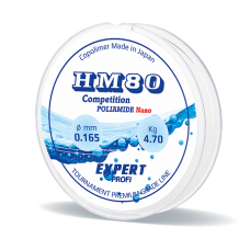 Леска Expert Profi  HM80, прозрачная, 0,125 мм, 30 м, 3,10кг